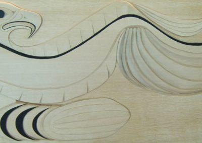 Eagle Panel, Yellow Cedar